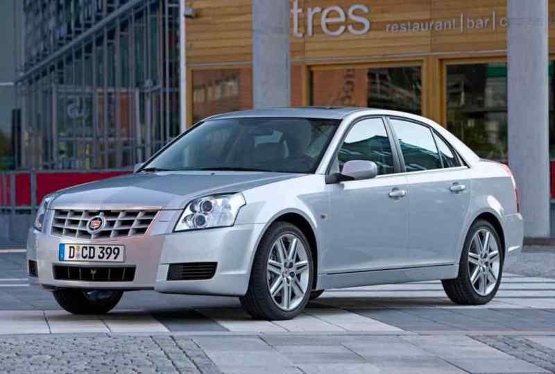 Seltener Saab Cousin Cadillac BLS