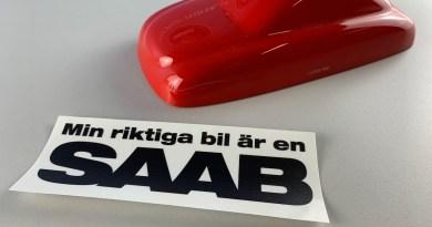 Min riktiga bil är en Saab