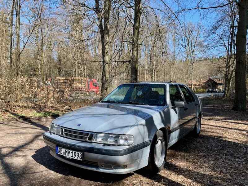 Saab 9000 am Engländer im Spessart