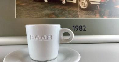 Saab-espressokopjes in zicht