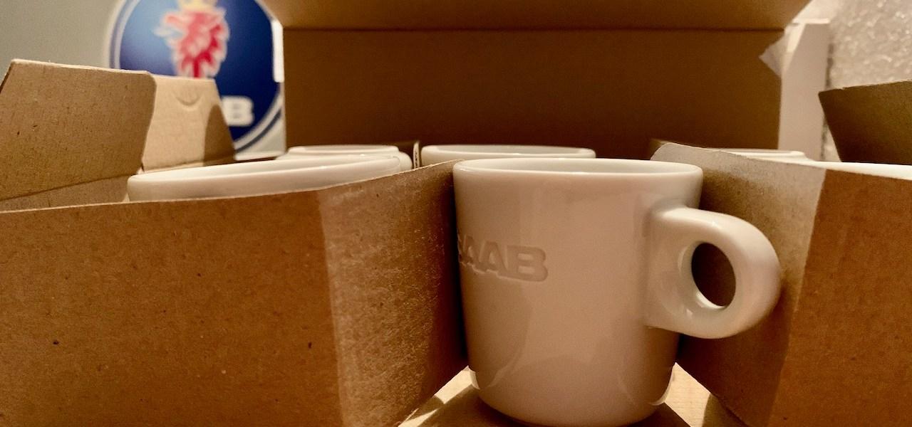 Saab Espresso Tassen