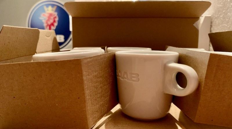 Tazas de espresso Saab