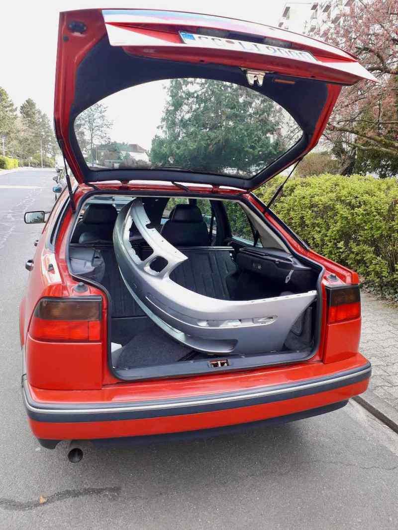 Le transporteur rapide Saab