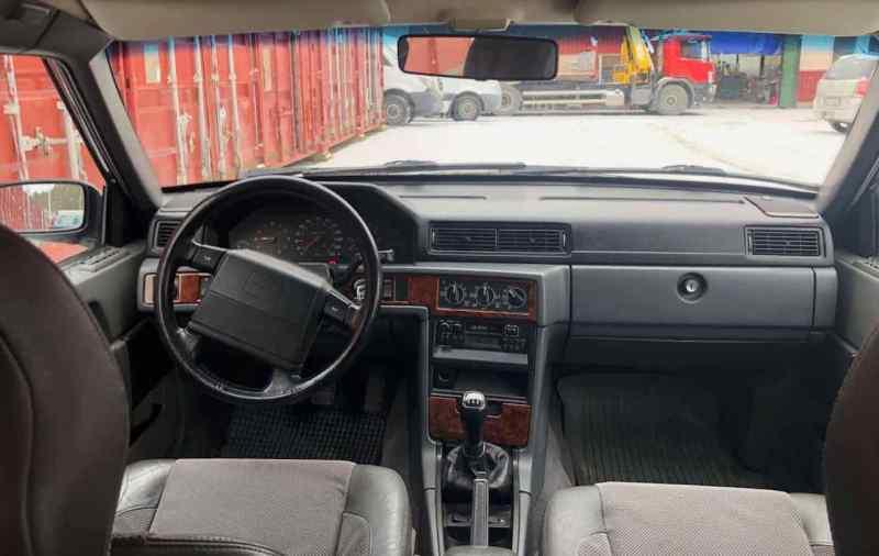 Das Cockpit des 945 - sachlich und typisch Volvo