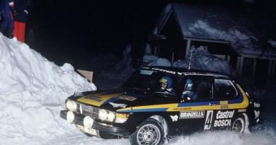 Saab 99 EMS - ناجح في رياضة السيارات