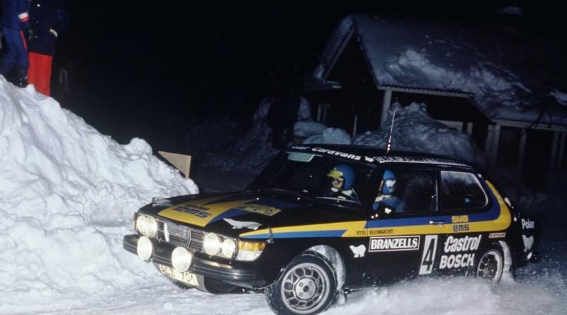 Saab 99 EMS - succès dans le sport automobile
