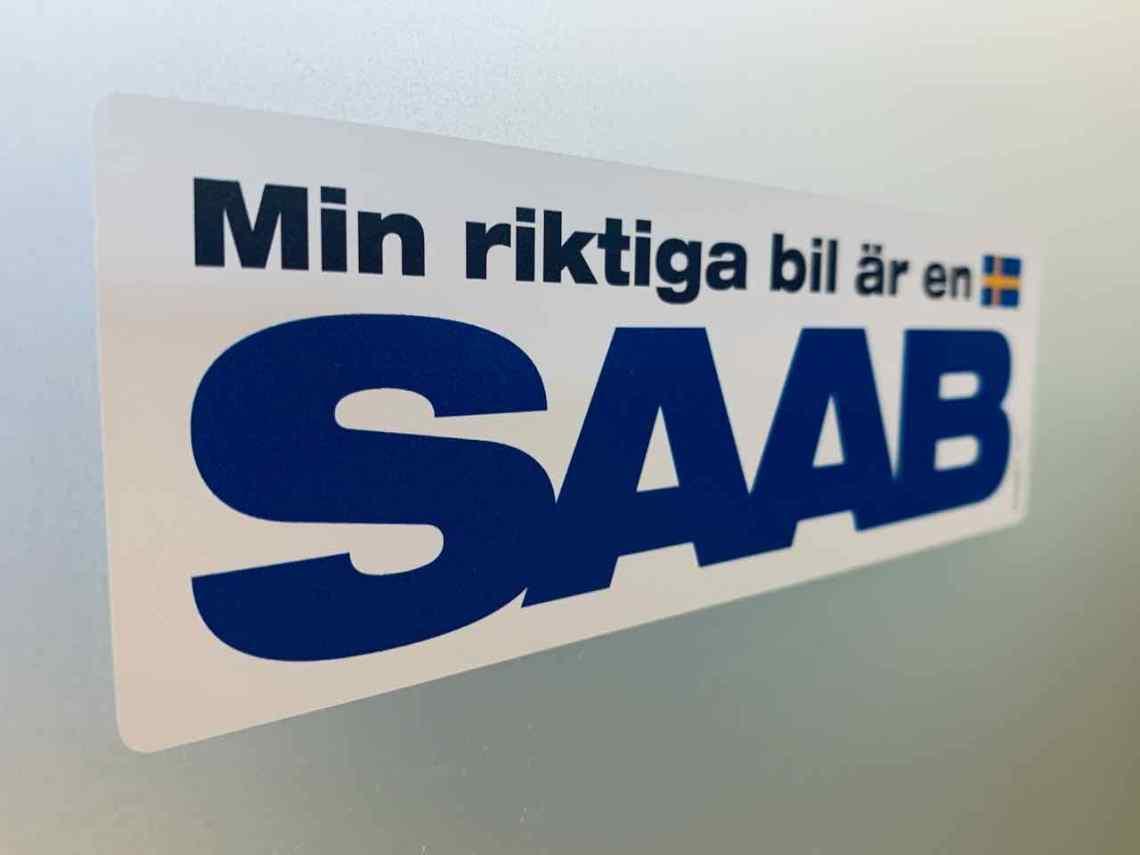Min riktika bil är en Saab