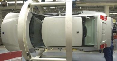Production dans l'usine Saab
