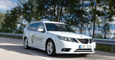 Coche eléctrico Saab
