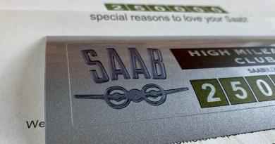 Saab High Mileage Club - nous commençons à 250.000 XNUMX !