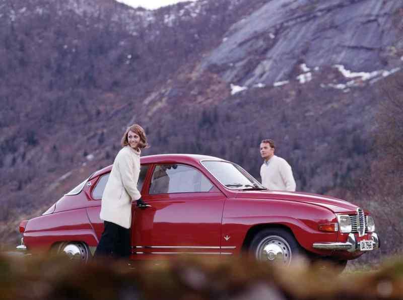 Saab 96 - il classico più popolare in Svezia