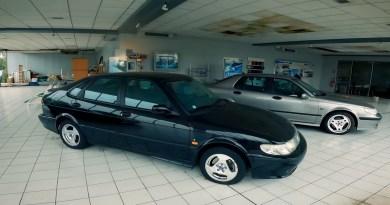 Ein verlassener Ort - Saab Autohaus in Frankreich