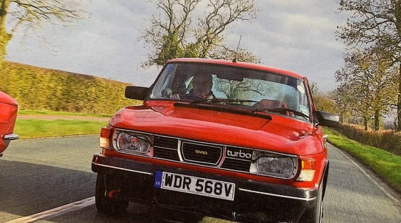 Saab och Triumph i Autobild Klassik