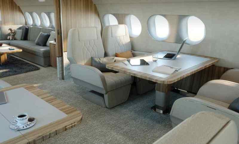 Esclusivo - Airbus con equipaggiamento ACJ