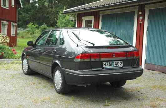 El Saab solo se movió 65.000 kilómetros
