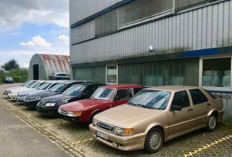 Um paraíso Saab na Suíça