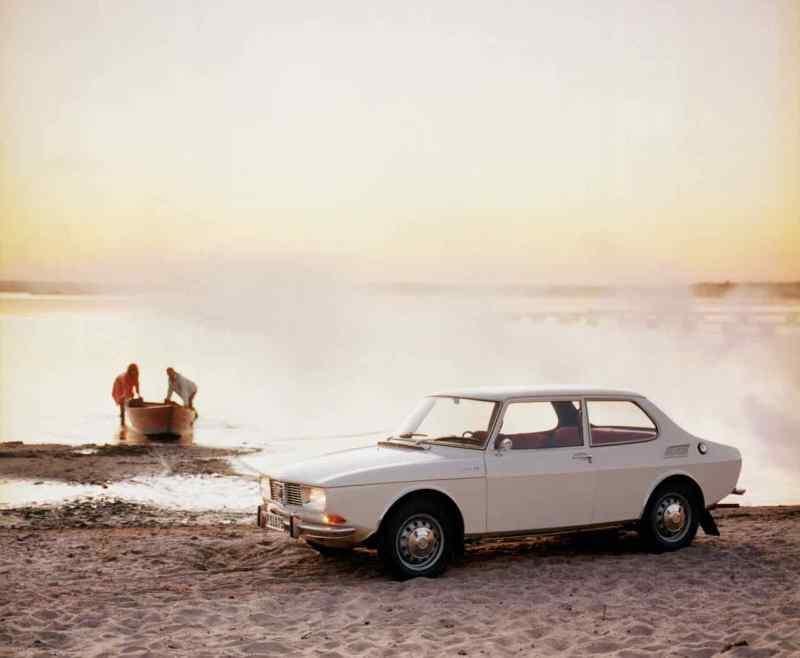Saab datum - sommar - sol - Saab 99