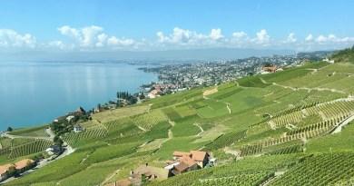 Un voyage à travers la Suisse. Sur le lac Léman.