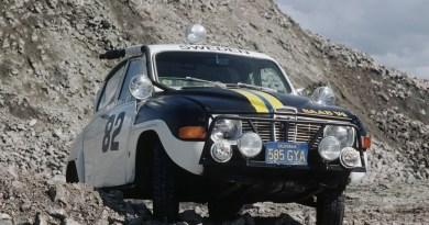 Saab 96 in azione