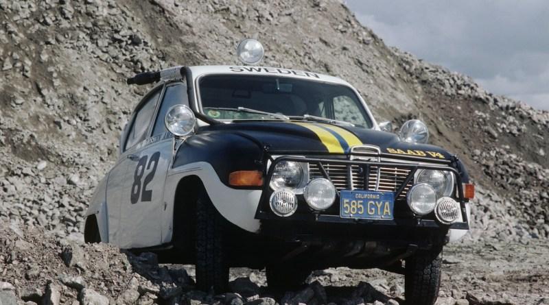 Saab 96 en acción