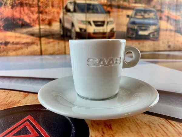 Saab espresso cup