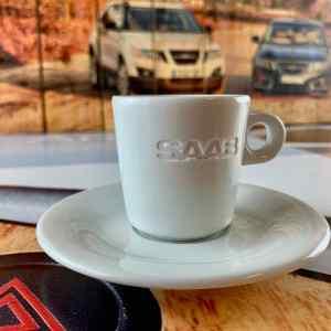 Saab espressokopp