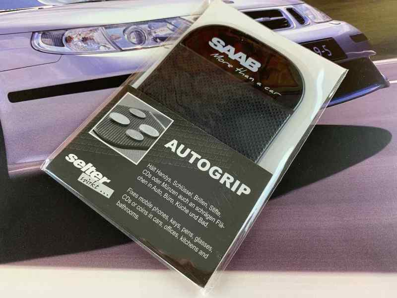 Saab - More than a car - Autogrip adhesive mat