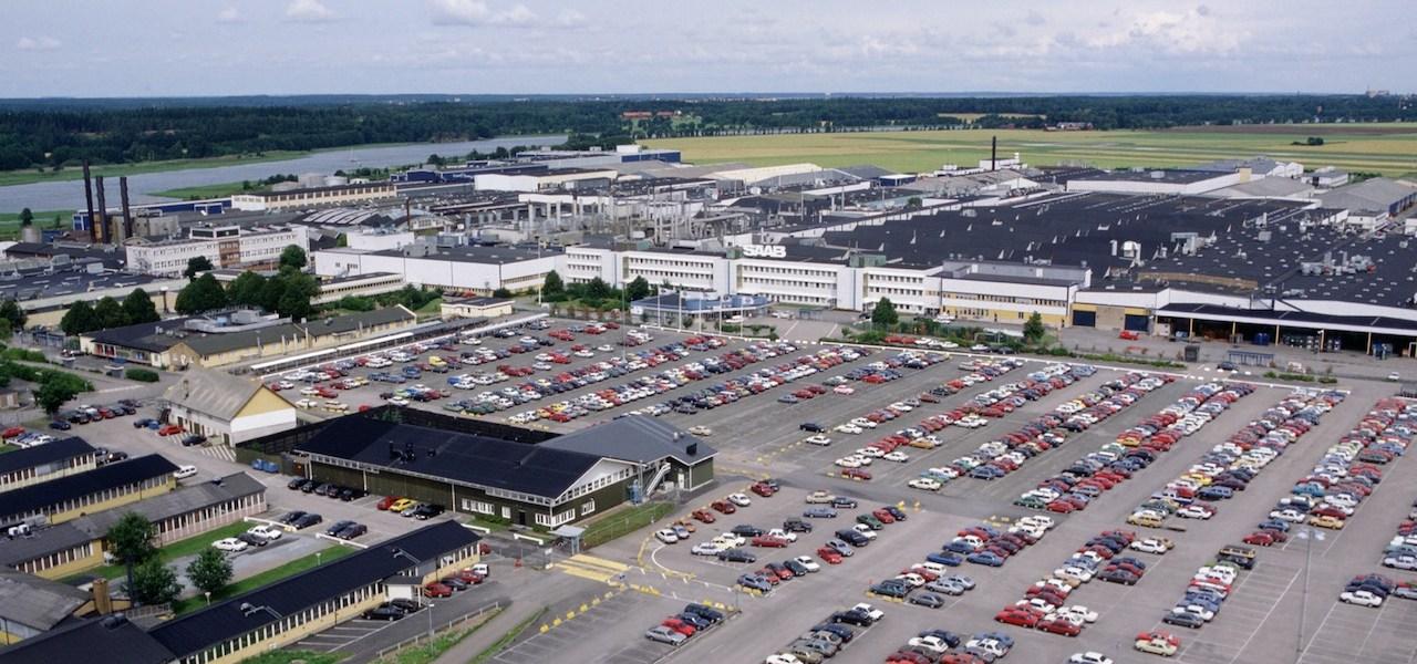 Завод Saab в Сталлбаке