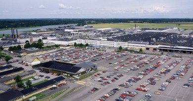 Fábrica da Saab em Stallbacka