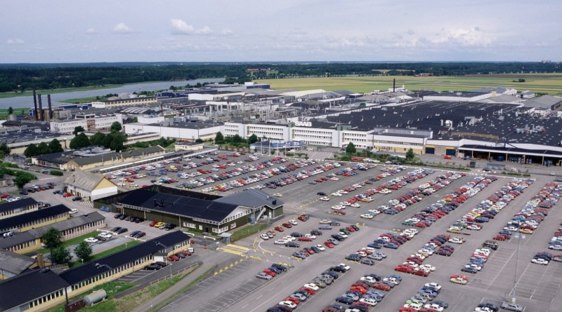 Fábrica de Saab en Stallbacka
