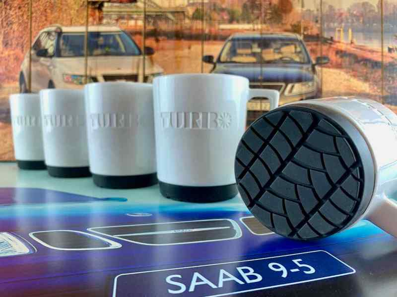 Saab Turbo cups