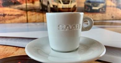 Taza Saab Espresso Classic Edition