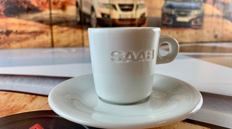 Saab Espresso Tasse Classic Edition
