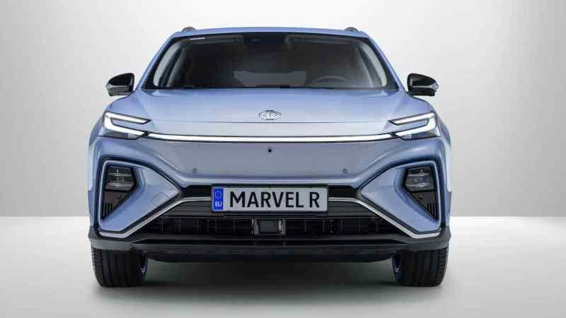Buque insignia: MG Marvel R Electric