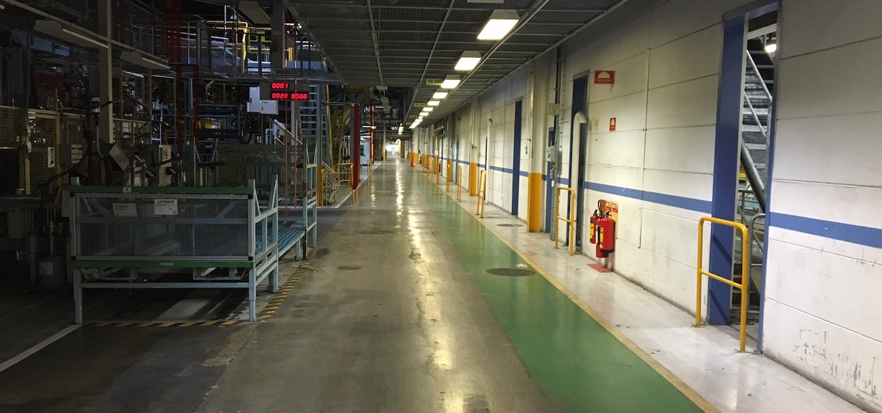 NEVS - look into the old Saab factory