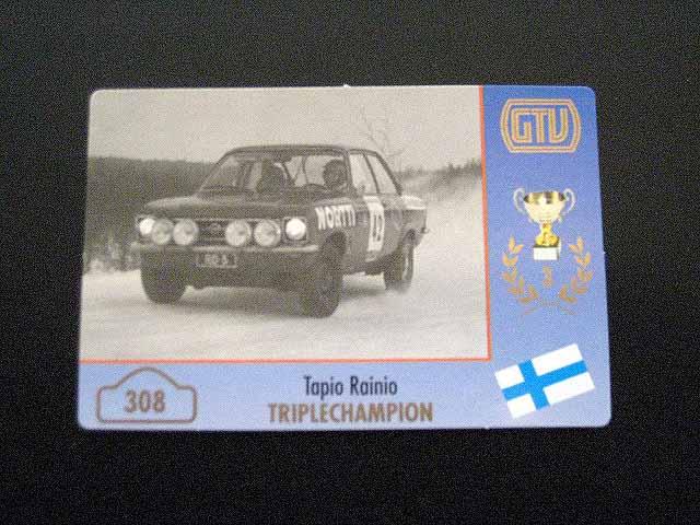 308.Tapio-Rainio-Opel-Ascona - SOLD OUT -