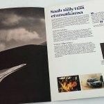 Turbo á la Saab. 1981, 16 sivua. Harvinaistakin harvinaisempi! 35 €
