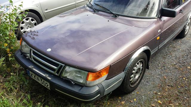 Myydään / for sale: Saab 900i 1988