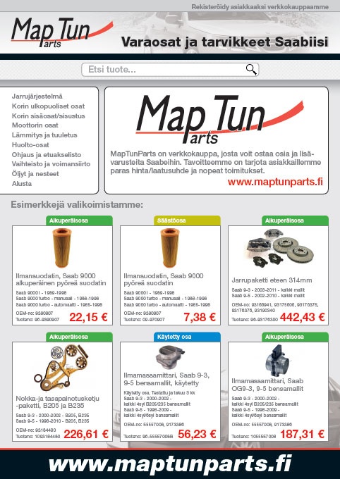 www.maptunparts.fi open for business