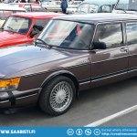 "The ""long body"" Saab 900 CD (Finlandia)."