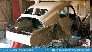 Saab 93B DeLuxe 1959 - Barn Find Basket Case