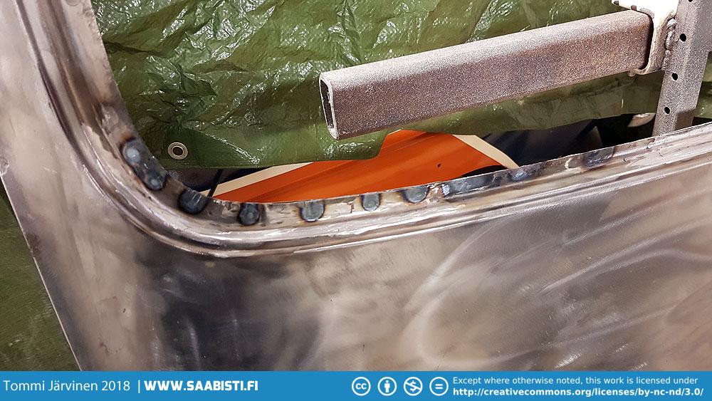Hatch corrosion repair
