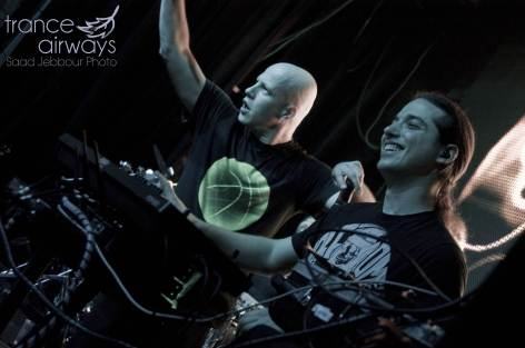 Infected Mushroom. Madrid. Trance Airways. Saâd Jebbour.