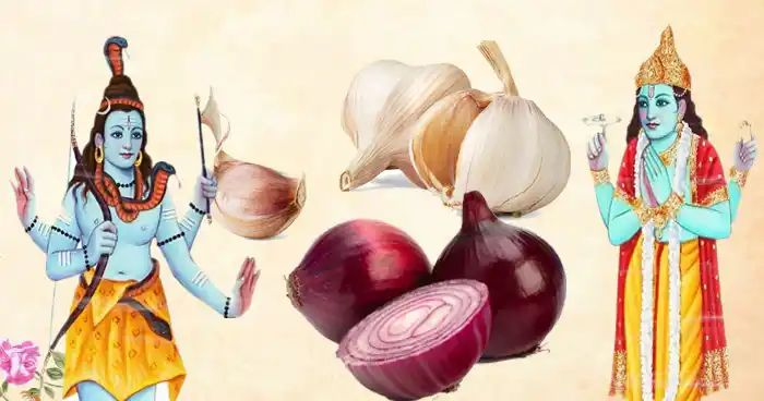 garlic and onion not offered to god