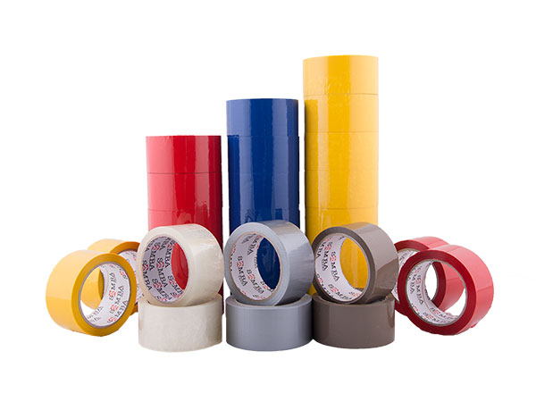COLOURED POLYPROPYLENE ACRYLIC TAPE