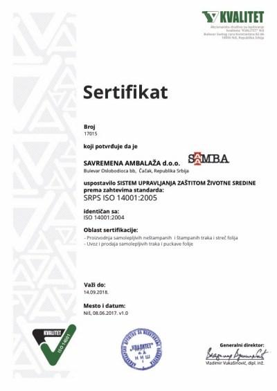 EMS-17015-v1.0-Savremena-ambalaža-14001