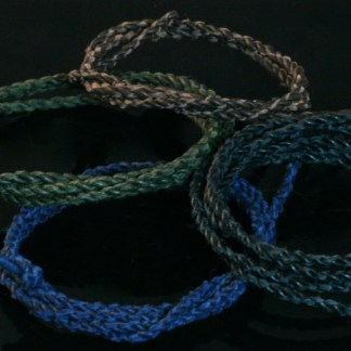 Twisted Leather cord (Reindeer leather)