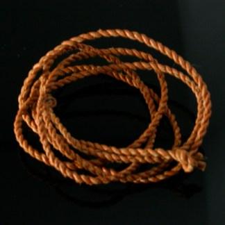 Sami, Saami Leather cords (Reindeer leather) tan