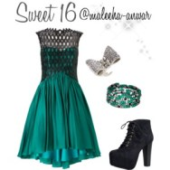 sweet 16 in teal
