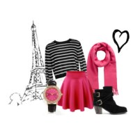 pink in paris